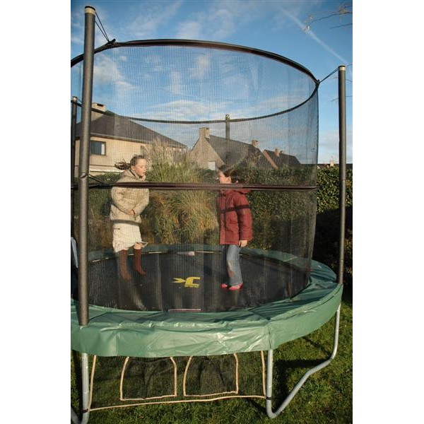 jumpking jumppod trampoline 430 cm met veiligheidsnet. Black Bedroom Furniture Sets. Home Design Ideas